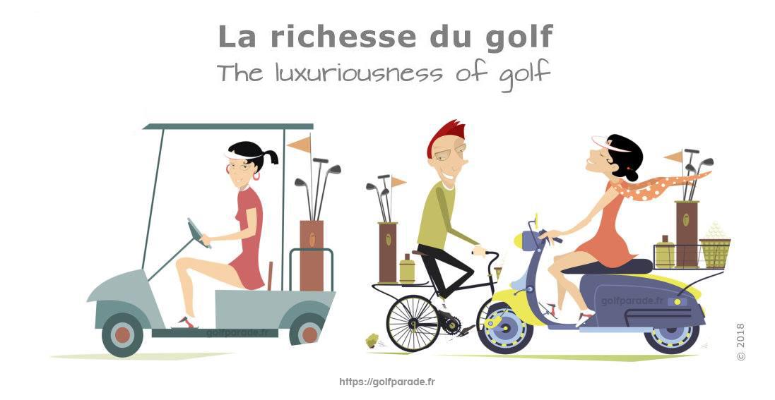 La richesse du Golf avec golfparade.fr